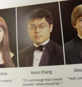 Kevin Chang Yearbook Quote
