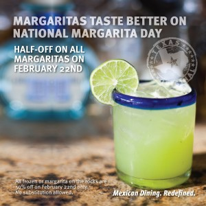 National Margarita Day at Iron Cactus Mexican Restaurant