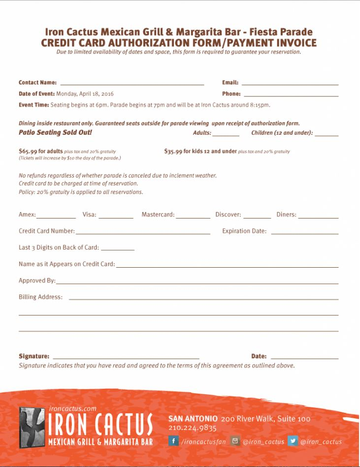 IC-Fiesta River Parade-CC Auth Form