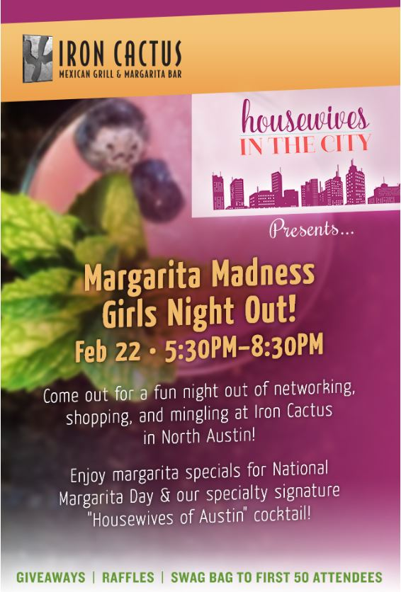 North Austin Mexican Restaurant Girls Night Out